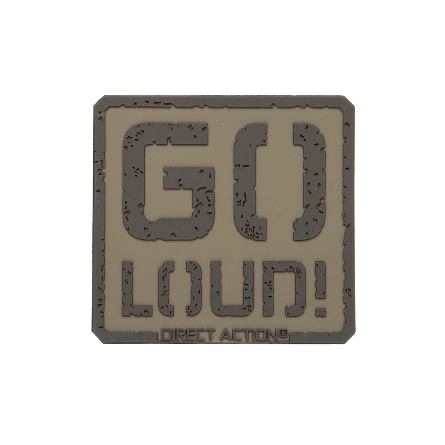 Patch GO LOUD! - PVC