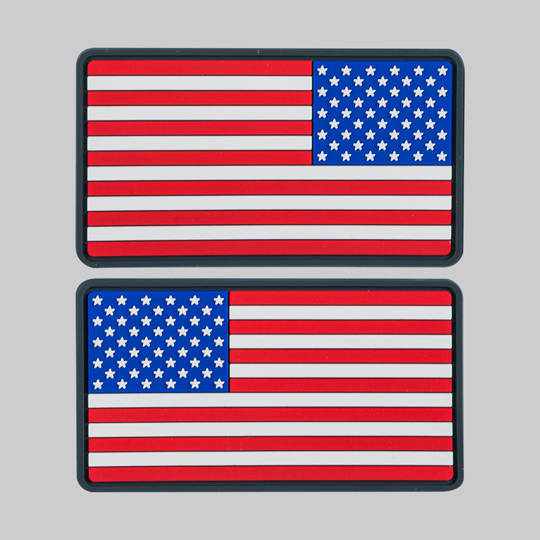 US Flag Velcro Patch - Large (left & right)