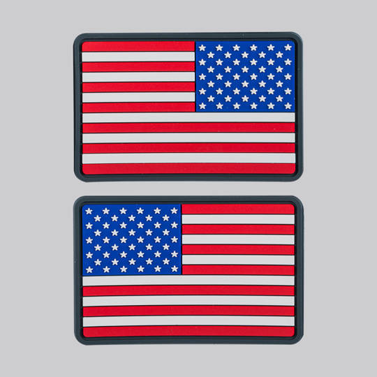 US Flag Velcro Patch - Small (left & right)