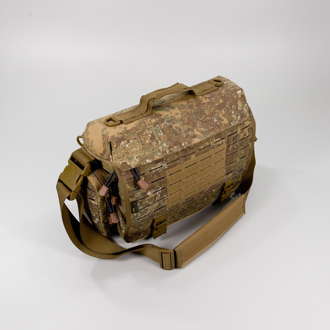 DIRECT ACTION SMALL TACTICAL MESSENGER SHOULDER GRAB BAG CARRY PACK MOLLE BLACK