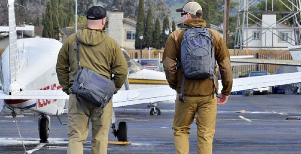 Helikon Urban Courier Bag Large Tactical Carrier Police Office Messenger Black
