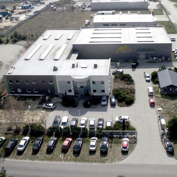 siedziba główna w Miękini Helikon-Tex
